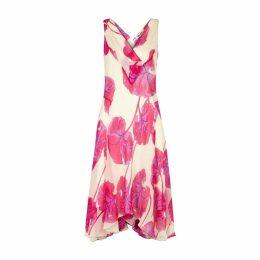 Diane Von Furstenberg Dita Floral-print Georgette Midi Dress