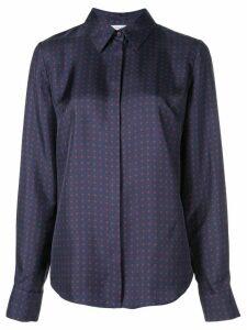 Gabriela Hearst spotted shirt - Blue