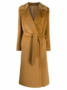 Tagliatore Molly double breasted coat - Brown