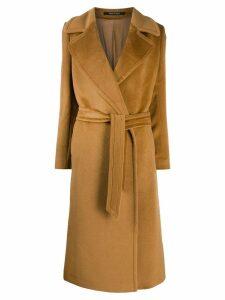 Tagliatore Molly double breasted coat - Brown