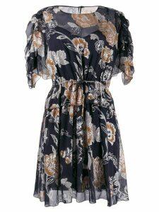 See By Chloé floral print mini dress - Blue