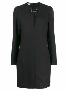 Stella McCartney chain strap shift dress - Black