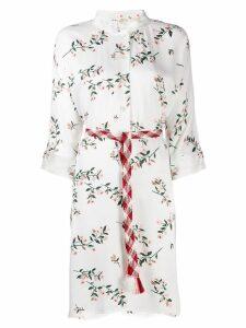 Bellerose floral blouse dress - White