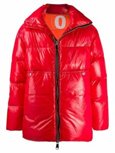Khrisjoy zipped padded coat - Red