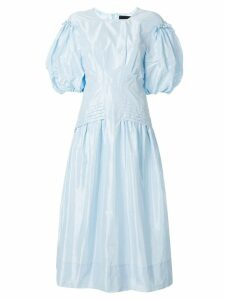 Simone Rocha puff-sleeve dress - Blue