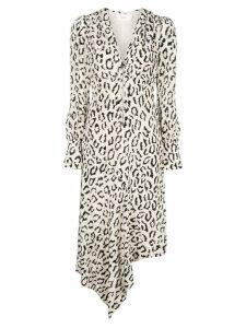A.L.C. animal print dress - White