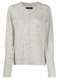 Isabel Marant cashmere Chinn sweater - Grey
