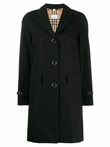 Burberry single breasted trench coat - Black