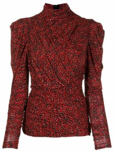 Isabel Marant Jalford top - Red