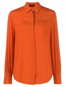 Joseph klein micro floral blouse - Orange