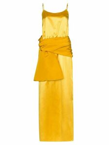 Rosie Assoulin sash cami maxi dress - Yellow