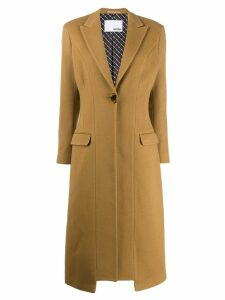 Each X Other Re-sculpted tailored coat - Brown