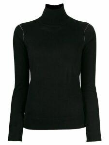 Joseph turtle neck knitted sweater - Black