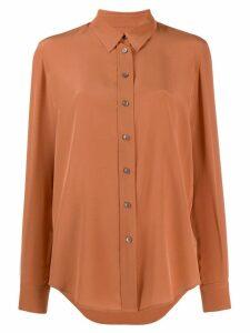 Calvin Klein long sleeved blouse - Brown