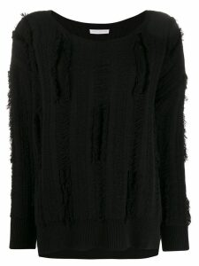 Faith Connexion distressed look jumper - Black