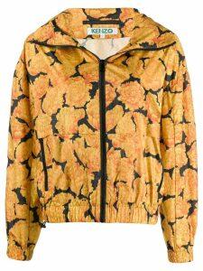 Kenzo peonie windbreaker jacket - Yellow