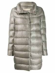 Herno glossy puffer jacket - Grey