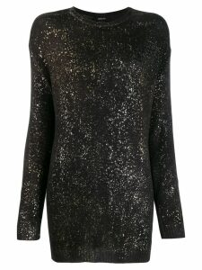 Avant Toi sparkle-embellished jumper - Grey