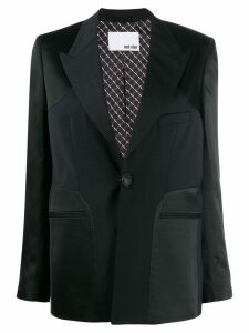 Each X Other reversed cocktail blazer - Black
