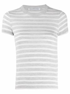 T By Alexander Wang striped T-shirt - Green