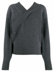 Each X Other v-neck jumper - Grey