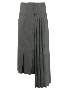 Marni deconstructed skirt - Grey