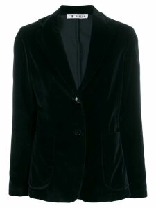 Barena Gid velour button blazer - Blue