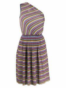 Missoni short zigzag dress - White