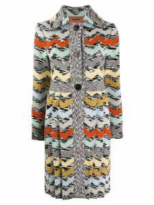 Missoni zigzag knit cardigan - White