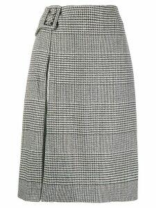 Ermanno Scervino houndstooth print skirt - Black