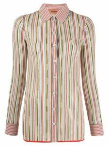 Missoni striped button shirt - Green