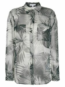Equipment palm-leaf print shirt - Black