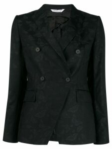 Tonello fitted double-breasted blazer - Black