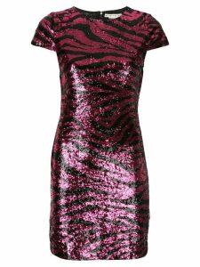 Alice+Olivia Nat sequinned mini dress - Pink