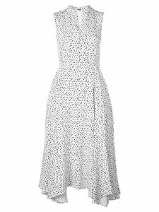 Adam Lippes all-over print dress - White