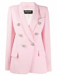 Balmain button embellishment blazer - Pink