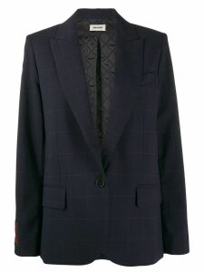 Zadig & Voltaire boxy blazer - Blue