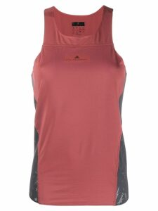 Adidas By Stella Mccartney logo tank top - Red