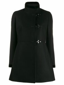 Fay single breasted duffle coat - Black