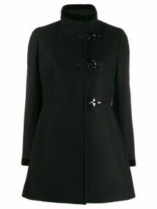 Fay single breasted duffle coat - Black