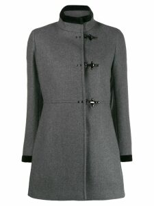 Fay single breasted duffle coat - Grey