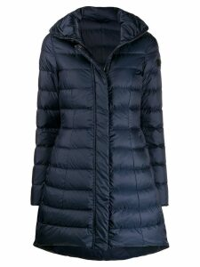Peuterey long sleeve padded coat - Blue