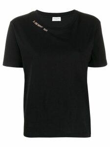 Saint Laurent logo T-shirt - Black