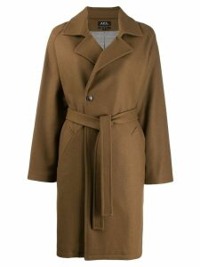 A.P.C. trench coat - Brown