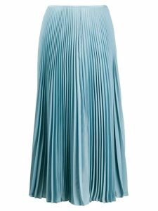 Joseph midi pleated skirt - Blue