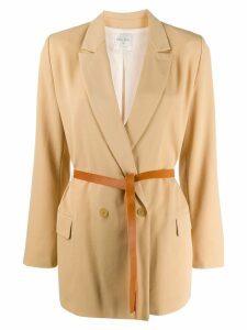 Forte Forte double-breasted fitted blazer - Neutrals