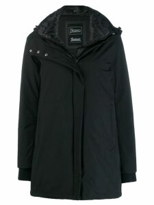 Herno hooded parka coat - Black