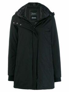 Herno hooded parka coat - Black