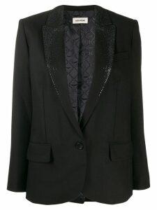 Zadig & Voltaire Viking Strass blazer - Black