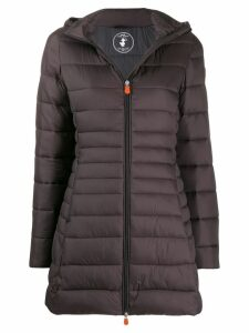 Save The Duck quilted zip-front jacket - Grey